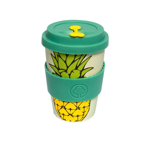 First for Earth Household Bamboo Eco Cup Pineapple, 400ml 606110806169 234791