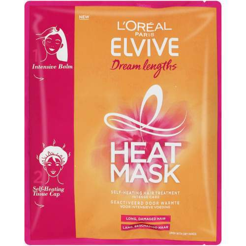 L'Oréal Toiletries L'Oreal Elvive Dream Lengths Long Hair Heat Hair Mask, 20ml 3600523627257 234862