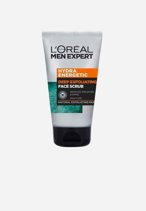 L'Oréal Toiletries L'Oreal Men Expert Hydra Energetic Deep Exfoliating Scrub, 100ml 3600523717491 234867