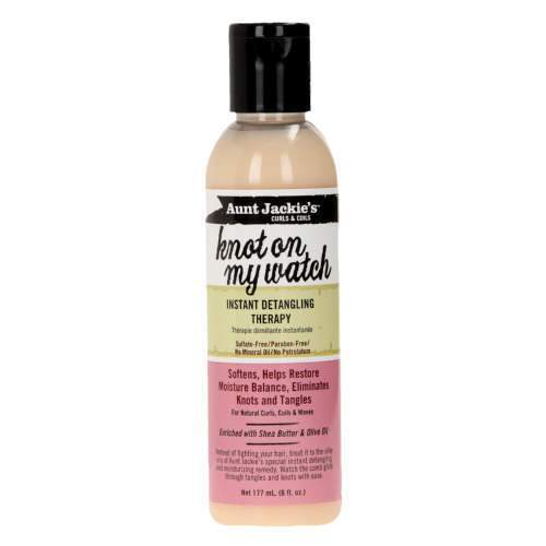 Aunt Jackies Toiletries Aunt Jackie's Knot On My Watch Detangler, 177ml 34285698065 235771