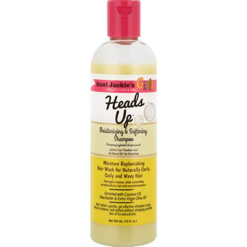 Aunt Jackies Toiletries Aunt Jackie's Heads Up Moisturising & Softening Shampoo, 355ml 34285665128 235777