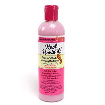 Aunt Jackies Toiletries Aunt Jackie's Girls Knot Havin It Leave-In Conditioner, 355ml 34285666125 235778