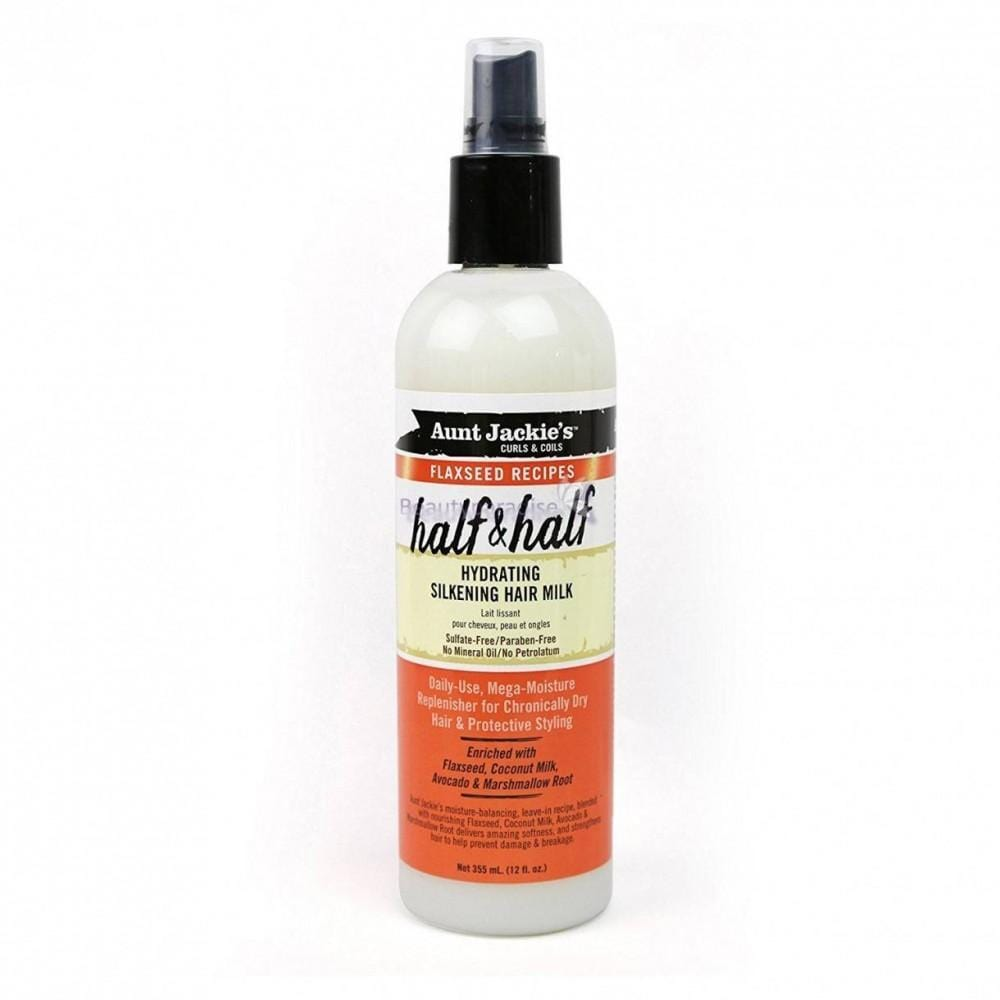 Aunt Jackies Toiletries Aunt Jackie's Half & Half Hydrating Silkening Hair Milk, 355ml 34285674120 235784