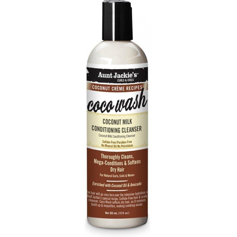 Aunt Jackies Toiletries Aunt Jackie's Coco Wash Coconut Milk Conditioning Cleanser, 355ml 34285689124 235790