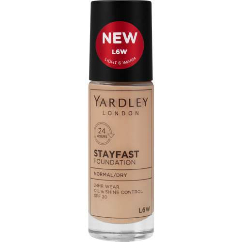 Yardley Beauty Yardley Stayfast Foundation Normal / Dry Skin, L6W 6001567758001 236932