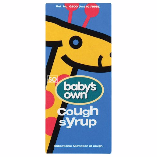 Baby's Own Cough Syrup, 50ml