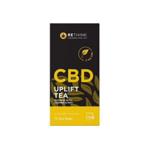 Rethink CBD Uplift Tea 2mg, 10's