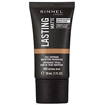 Rimmel Beauty Rimmel Lasting Matte Foundation, 400 Natural Beige 3614228347662 238447