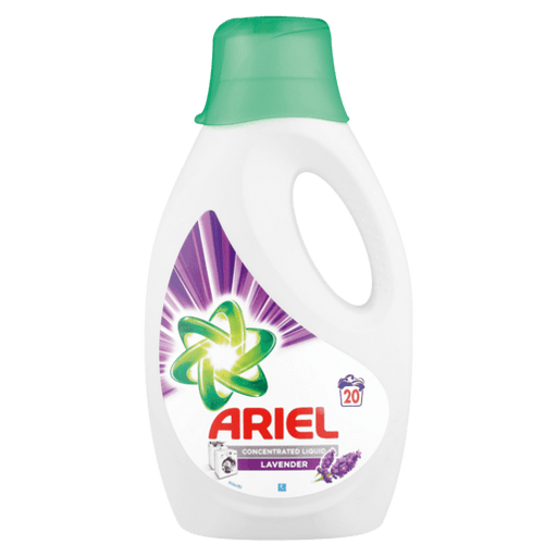 Ariel Household Ariel Lavender Scented Concentrated Liquid, 1.1l 239075