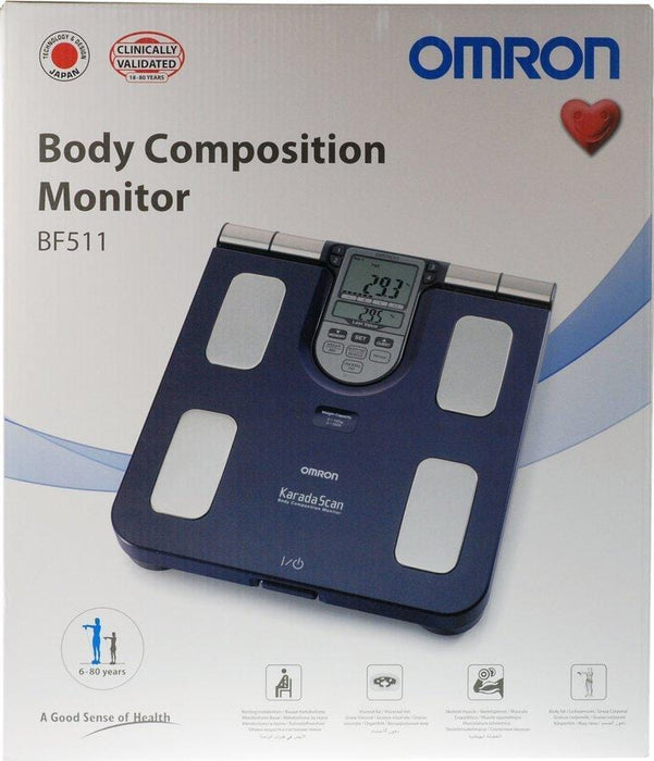 Omron Household Omron Body Composition Monitor BF511, 1's 4015672104051 242280