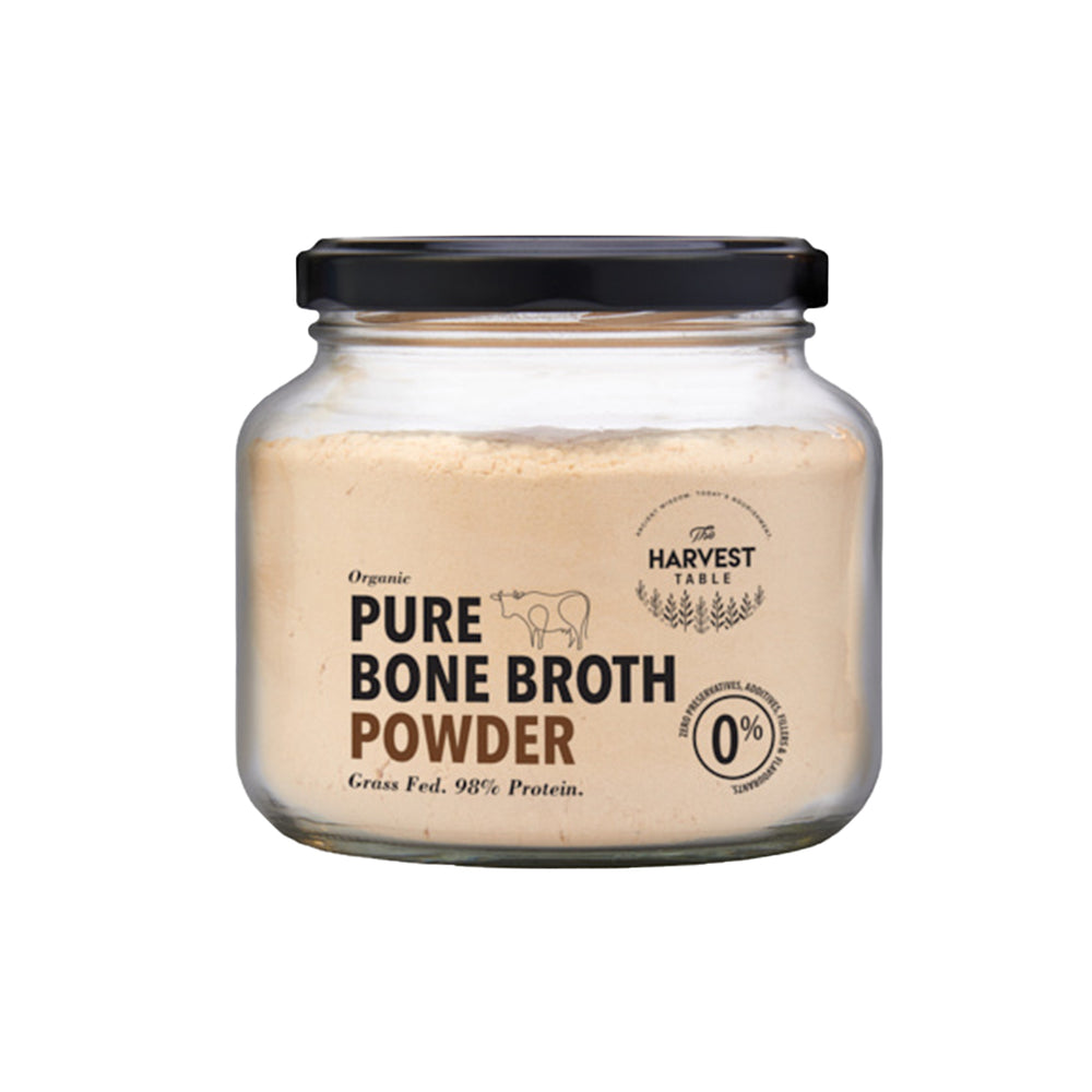 The Harvest Table Collagen Bone Broth Powder, Assorted