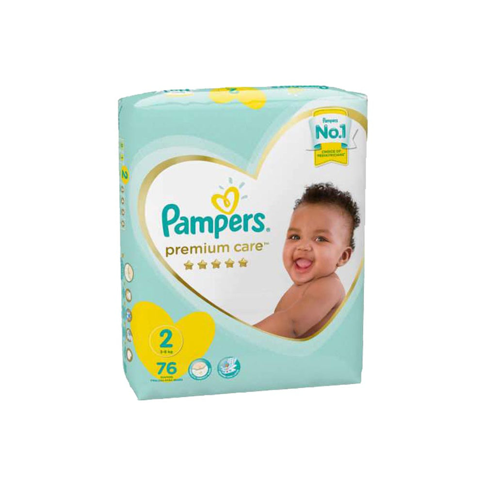Pampers Premium Care No.2 Mini, 76's