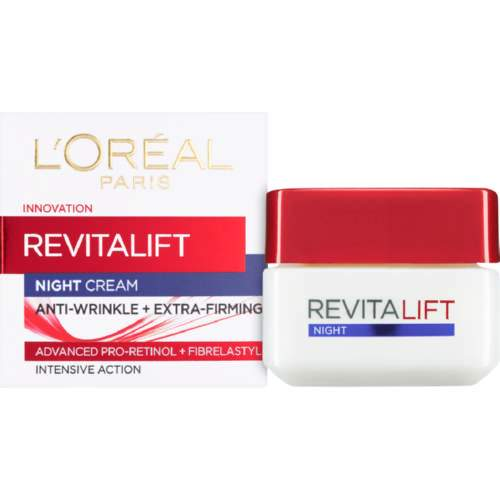 L'Oréal Beauty L'Oréal Revitalift Night Cream, 50ml 5011408040791 32188