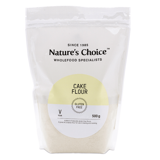 Nature's Choice Gluten Free Cake Flour, 500g
