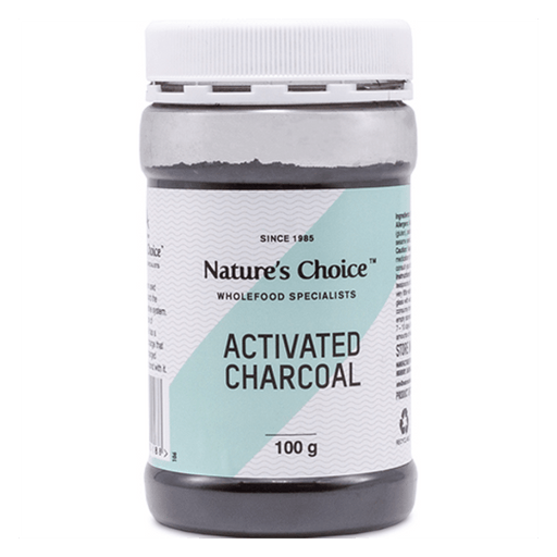 Mopani Pharmacy Health Foods Nature's Choice Activated Charcoal, 100g 6007732004188 47556
