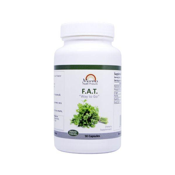 "Mopani Pharmacy Sports Nutrition Manna F.A.T. ""Way to Go"" Fat Burner Caps, 90's 6009649480499 135583"