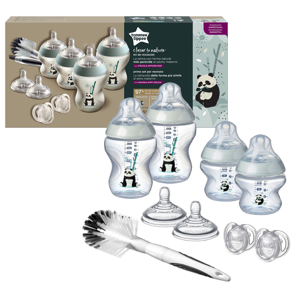 Tommee Tippee Closer to Nature Newborn Starter Kit Boy
