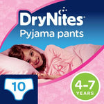 Drynites Girls 4-7 Yrs 10's