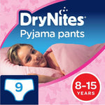 Drynites Girls 8-15 Yrs 9's