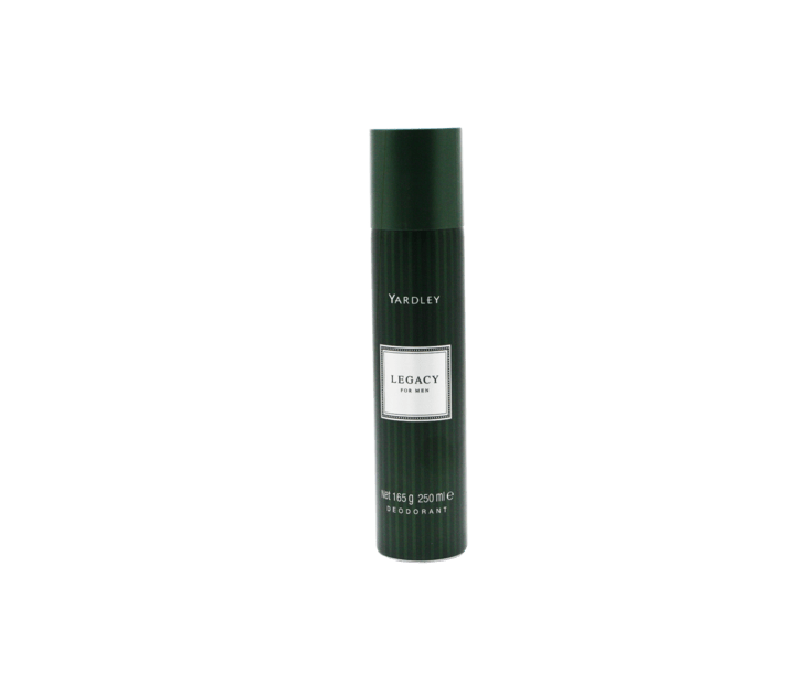 Load image into Gallery viewer, Yardley Toiletries Yardley Legacy Deodorant For Men, 250ml 6001567050013 54575