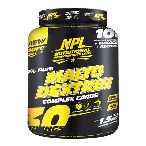 NPL Sports Nutrition NPL 100% Pure Maltodextrin, 1.5kg 6009879963021 208693