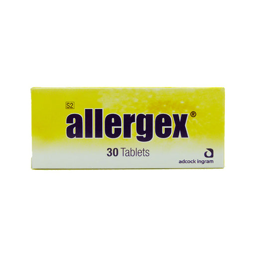 Allergex 4mg Tabs, 30's
