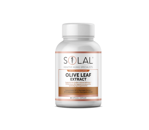 Solal Vitamins Solal Olive Leaf Extract Caps, 60's 6009663990943 703940001