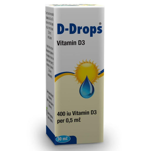 D-Drops Vitamins Georen D-Drops 400iu Vitamin D3 Drops, 30ml 6009620600793 704122001