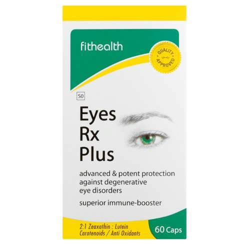 Fithealth Eyes Rx Plus Caps, 60's