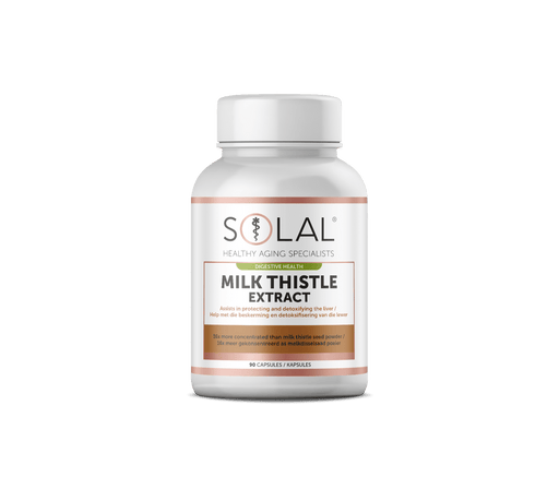Solal Vitamins Solal Milk Thistle Extract Caps, 90's 6009663991988 711603001