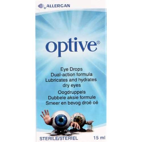 Mopani Pharmacy Health Allergan Optive Eye Drops 15ml 6006340001619 711710001