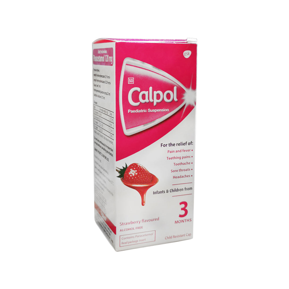 Calpol Paediatric Suspension, 100ml