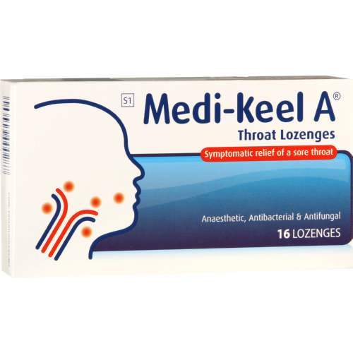 Medikeel Throat Lozenges Original, 16's