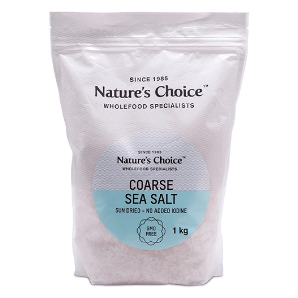 Mopani Pharmacy Health Foods Nature's Choice Coarse Sea Salt, 1kg 6007732001613 80229