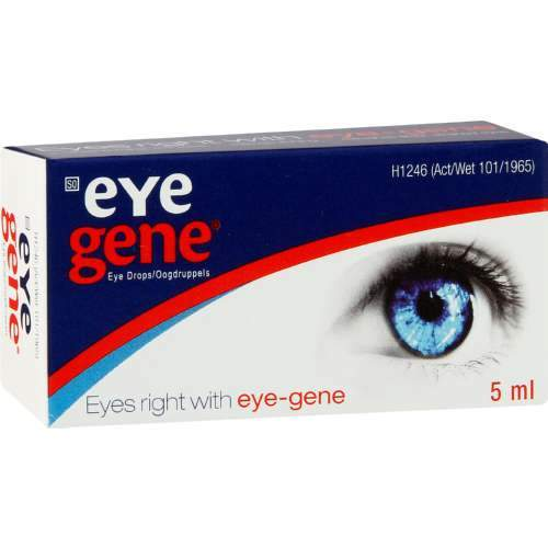 Mopani Pharmacy Health Eye Gene Eye Drops 5ml 6001076040017 804991006