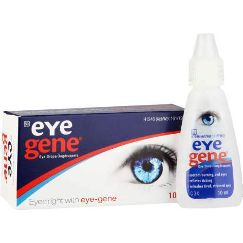 Mopani Pharmacy Health Eye Gene Eye Drops 10ml 6001076040048 805475028