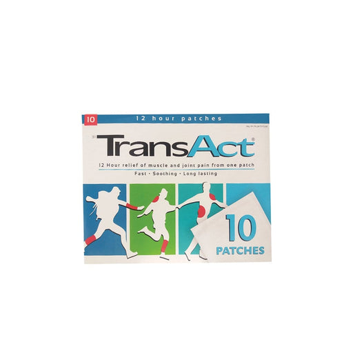 Mopani Pharmacy Dispensary TransAct Patches, 10's 6001509300015 810487004