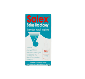 Load image into Gallery viewer, Mopani Pharmacy Dispensary Salex Saline DropSpray, 30ml 6005259000607 834882019