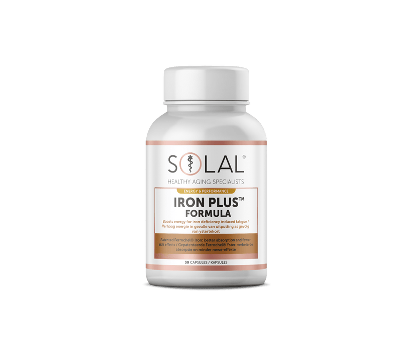 Solal Vitamins Solal Iron Plus Formula Caps, 30's 6009663991070 86055