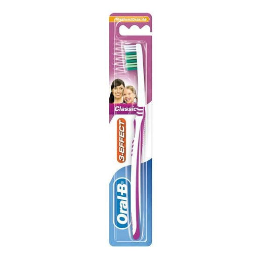 Oral-B Toiletries Oral B Toothbrush 3 Effect Classic 40, Medium 3014260275921 93886