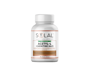 Solal Vitamins Solal Acetyl-L -Carnitine (ALC) Caps, 30's 6009663990189 93980
