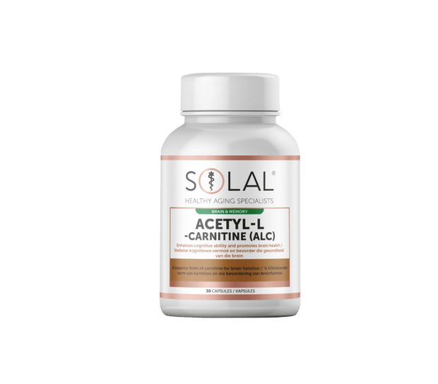 Solal Acetyl-L -Carnitine (ALC) Caps, 30's