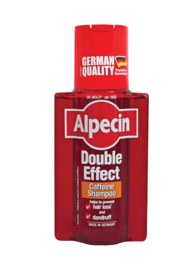Alpecin Caffeine Shampoo, Double Effect, 250ml