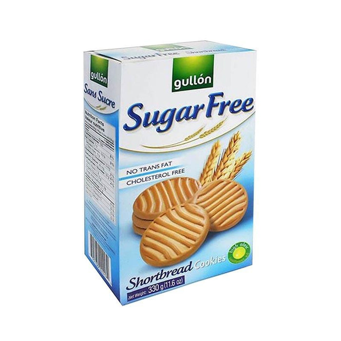 Gullon Sugar Free Shortbread Biscuits, 330g