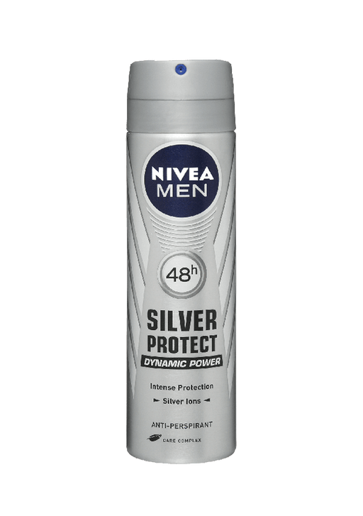 Nivea Toiletries Nivea Anti-Perspirant Deodorant Men Silver Protect 150ml 4005808334773 110973
