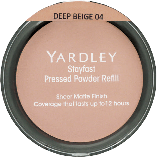 Yardley Cosmetics Deep Beige Refill Yardley Stayfast Pressed Powder Refill, 15g, Various Shades 6001567138223 126271