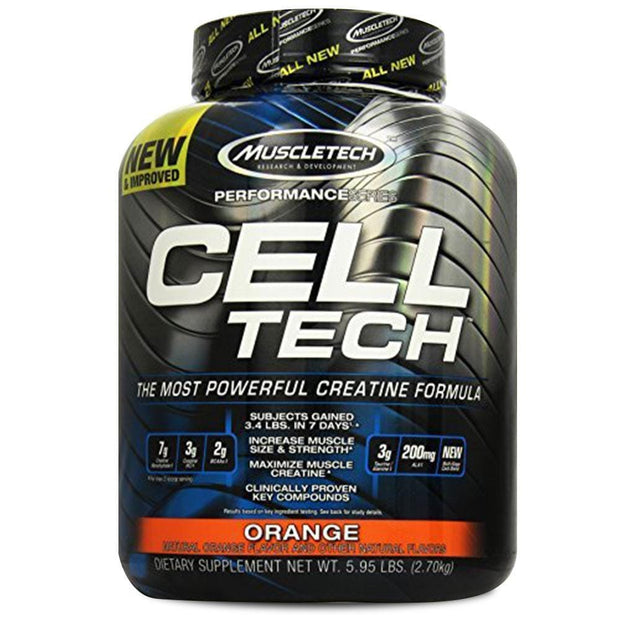 MuscleTech Cell Tech Creatine Formula Orange, 2.7kg