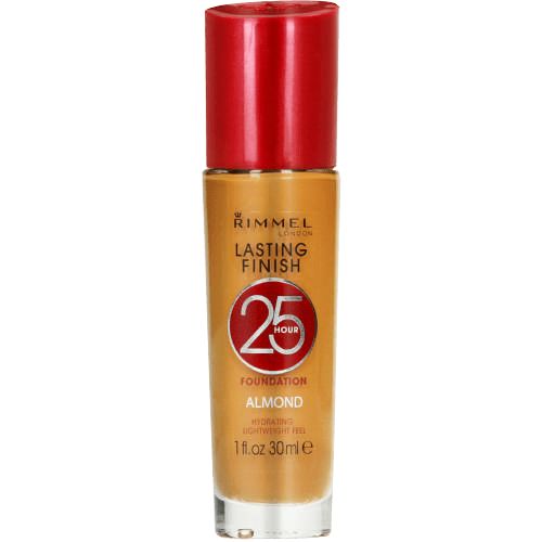 Rimmel Cosmetics Almond Rimmel Lasting Finish 25 Hour Foundation, 30ml, Various Shades 6001567199798 154096