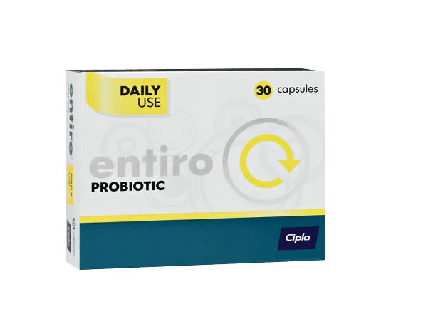 Mopani Pharmacy Dispensary Cipla Entiro Probiotic Caps, 30's 6006352023364 155424