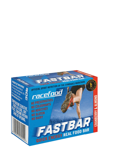 Racefood Sports Nutrition Cranberry & Almond Racefood Fastbar, 5's 6009670530552 155690